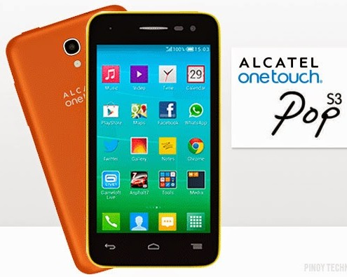 alactel one touch pop s3 celulares