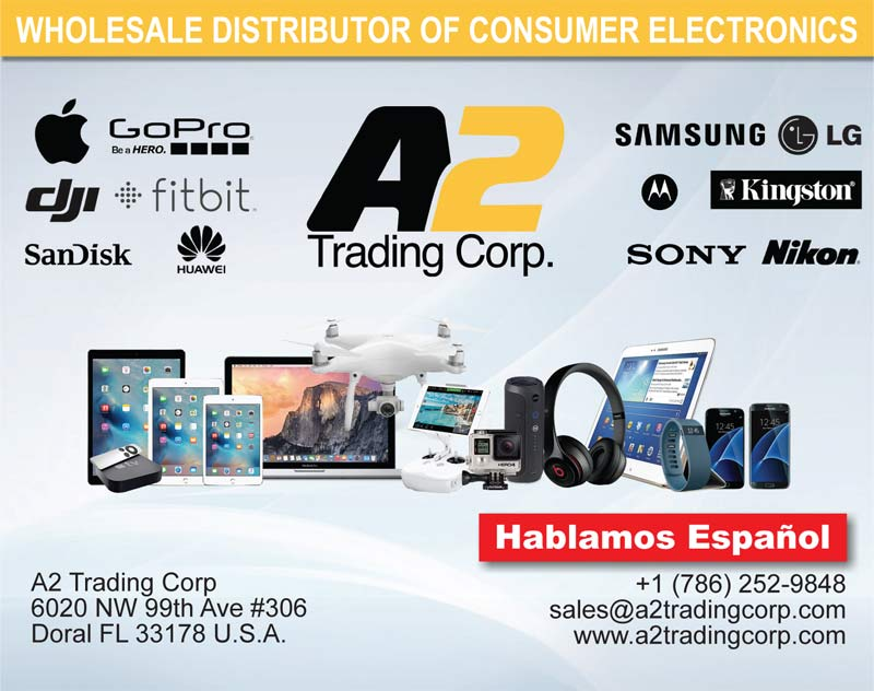 distribuidor de celulares, tabletas, video juegos, consumo de electronica