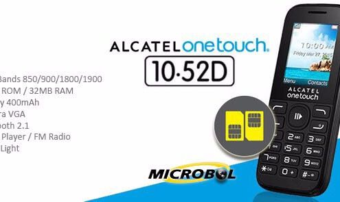 Alcatel One touch 10-52D al por mayor