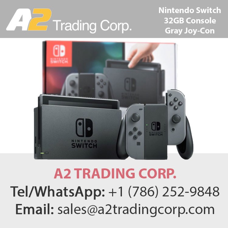 Nintendo Switch 32GB Console Gray Joy-Con