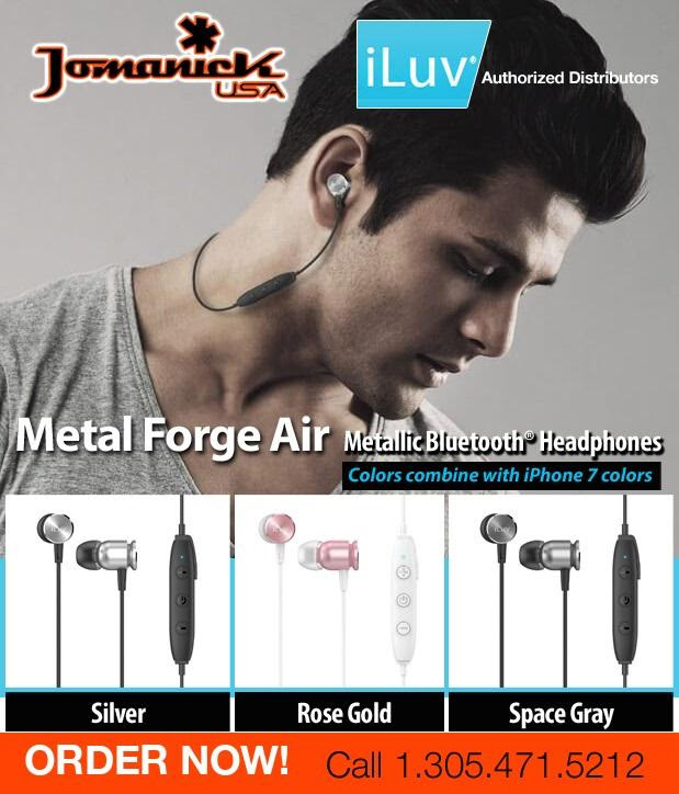 ILUV BLUETOOTH METAL FORGE AIR