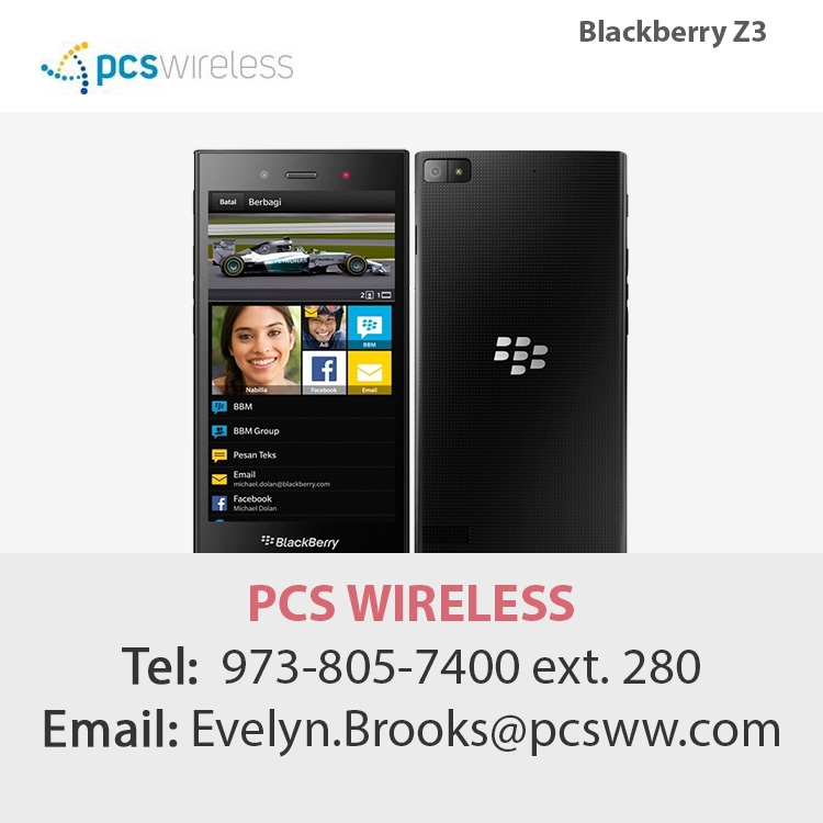blackberry celulares al por mayor z3