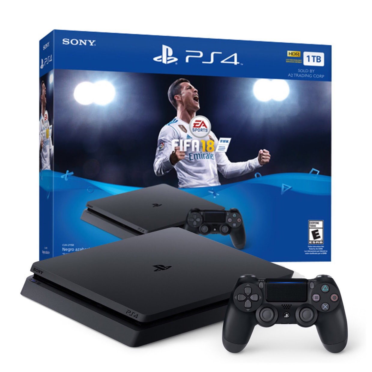 PS4 Slim 1TB FIFA18 Bundle