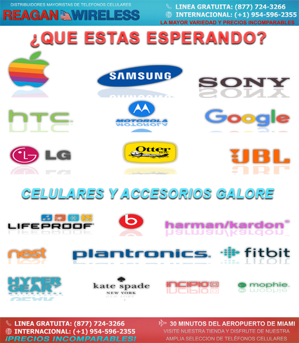 ¿QUE ESTAS ESPERANDO? | CELULARES Y ACCESORIOS GALORE | REAGAN WIRELESS