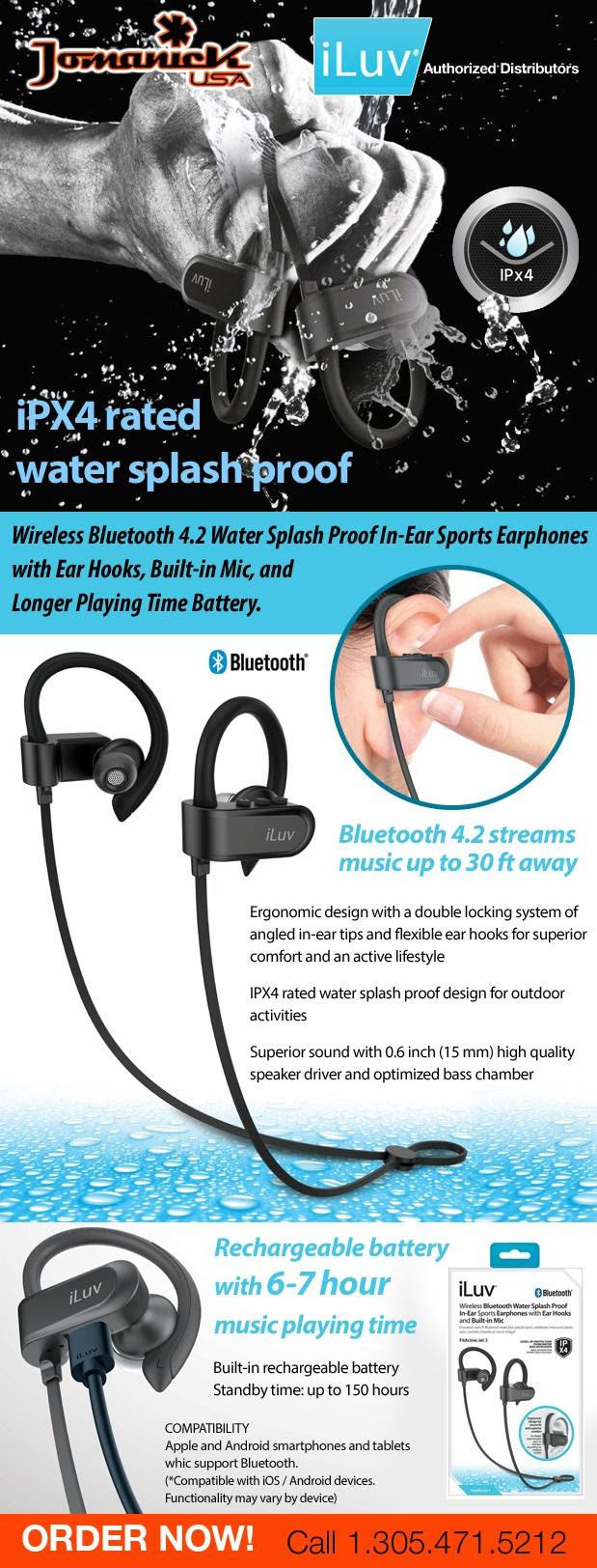 Water Splash Proof - Auriculares