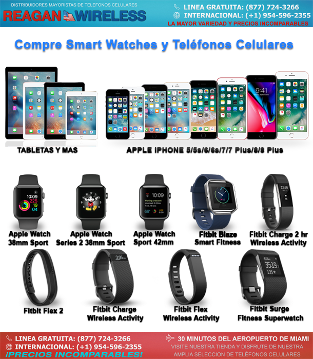 Compre Smart Watches y Teléfonos Celulares | Reagan Wireless