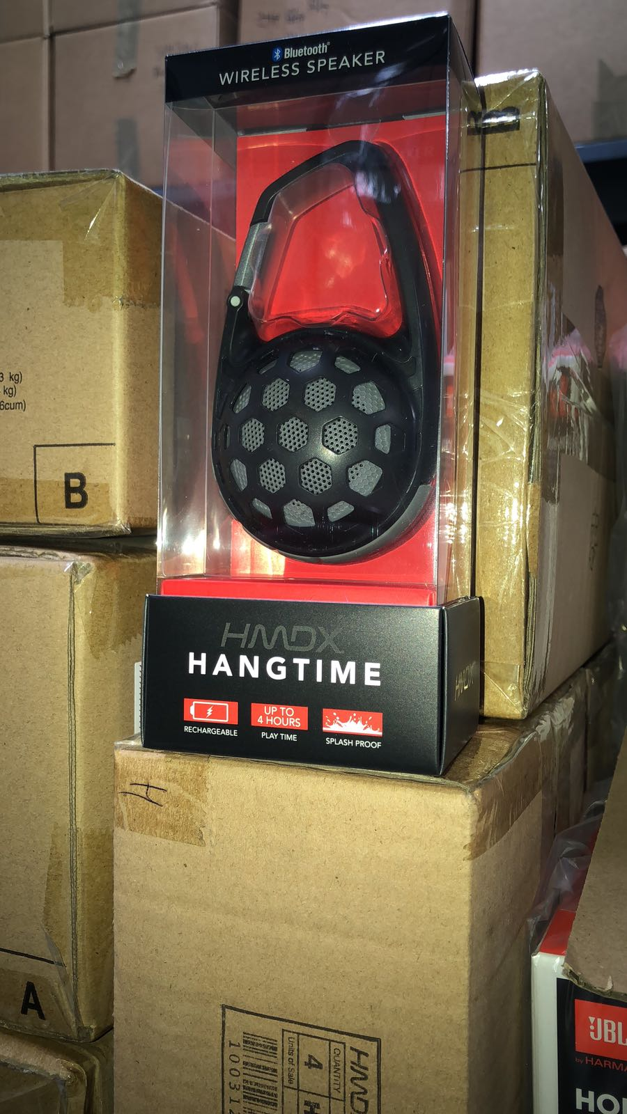 WTS: HMDX HANGTIME PORTABLE WIRELESS SPEAKER | $8.49? AVAILABLE IN BLACK OR TEAL. MIAMI READY STOCK.