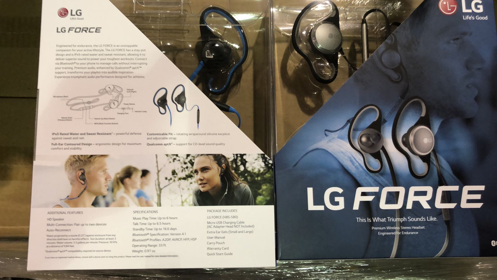 🚨 WTS: READY STOCK MIAMI | $24.95‼🚨 LG Force HBS-S80!! BRANDNEW IN MASTER CARTON.