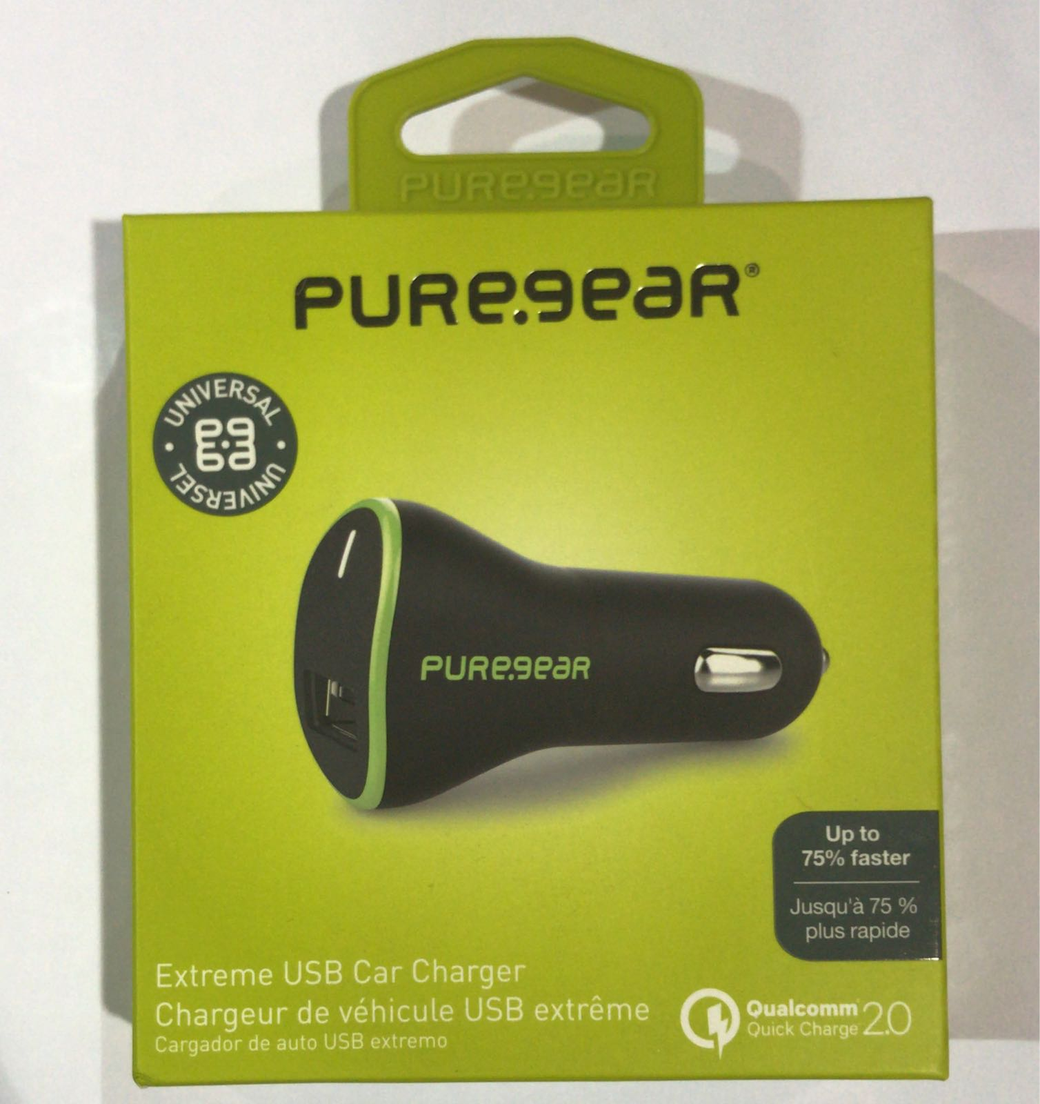 PUREGEAR QUICK CHARGE CAR ADAPTER | ONLY $2.89⚡ READY STOCK MIAMI!!