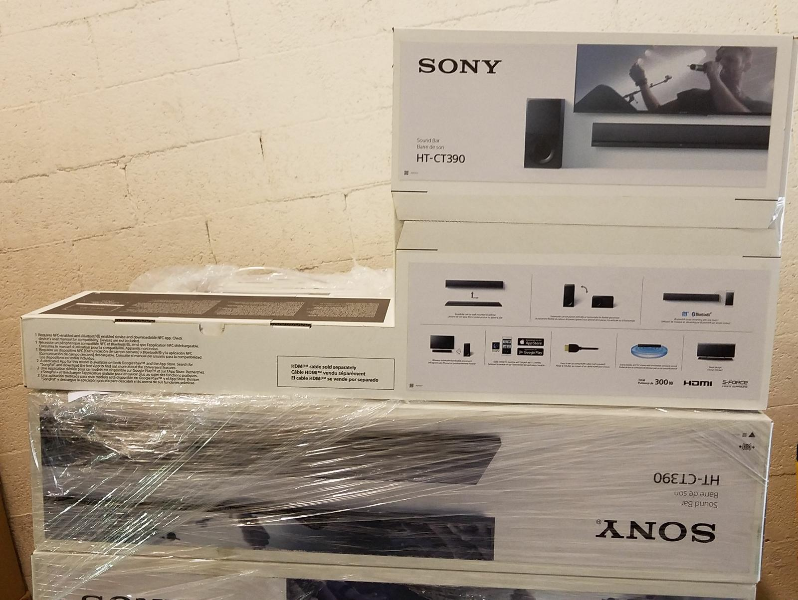 🔊SONY HT-CT390 SOUNDBARS READY STOCK MIAMI🔊 CALL OR MESSAGE FOR BEST PRICING!!