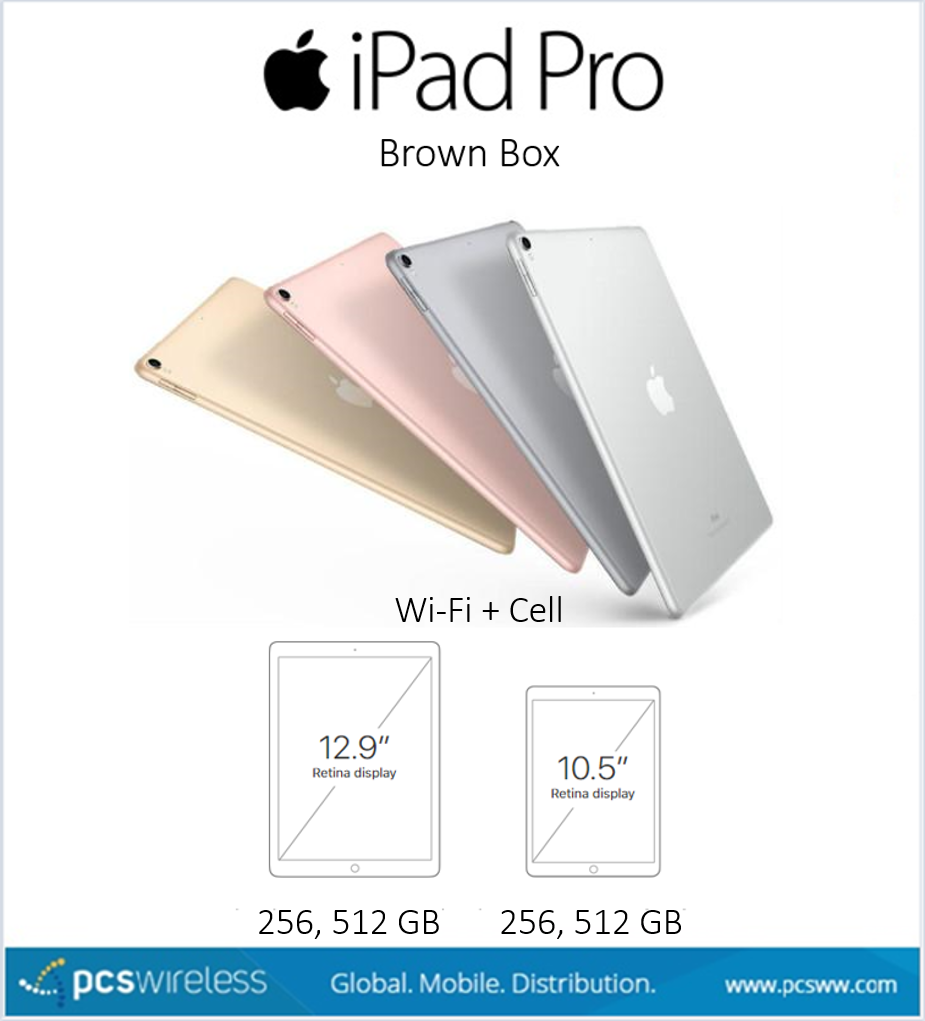 Nuevo iPad Pro (2nd Gen.) - Brown Box