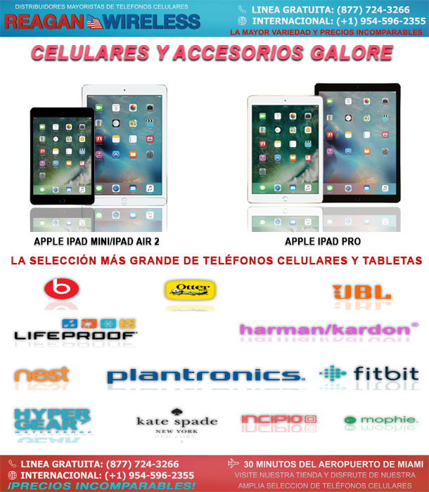 Celulares, Accesorios y Tabletas Galore | Reagan Wireless