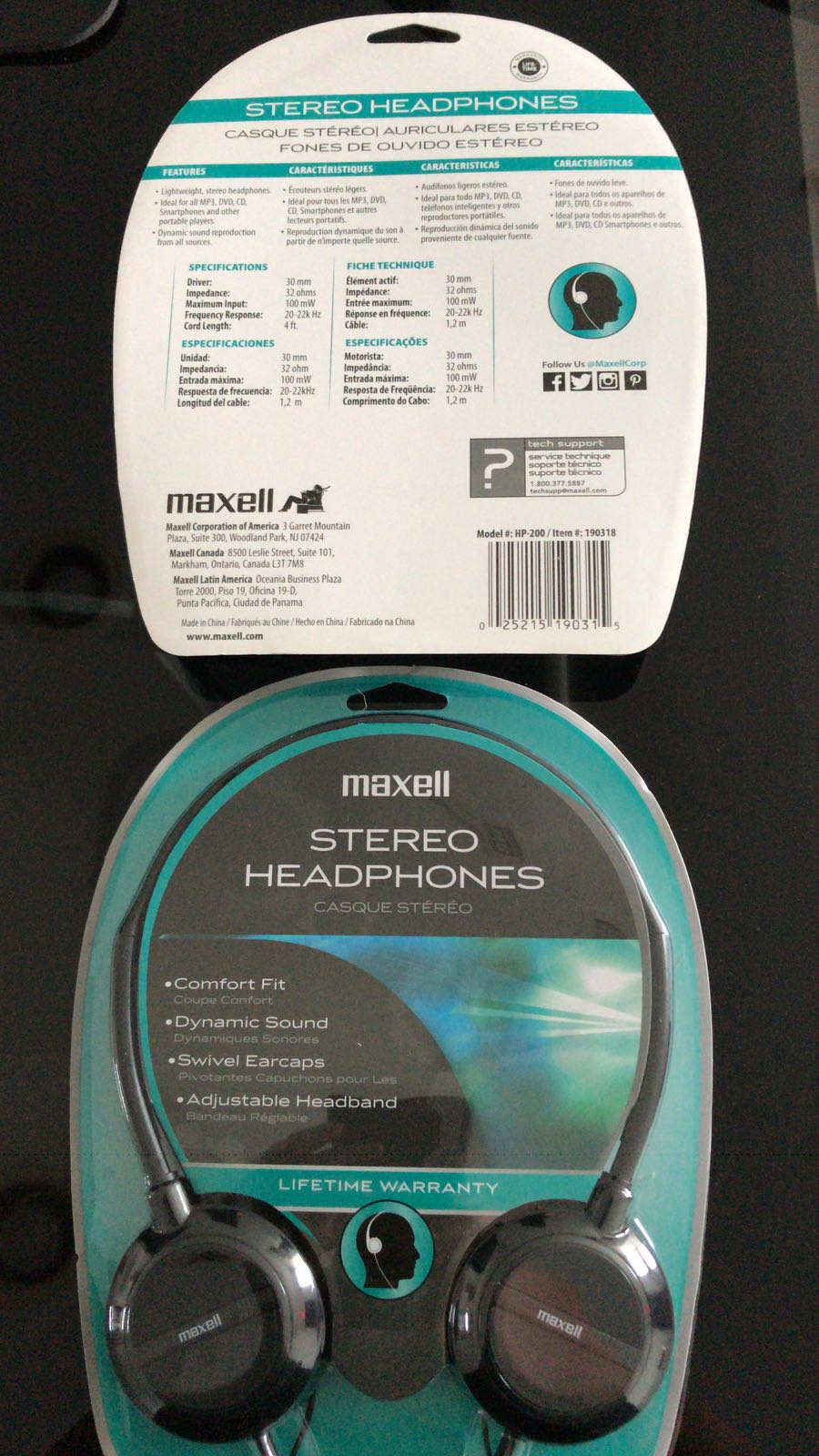 WTS: MAXELL HP 200 - WIRED HEADPHONES | READY STOCK MIAMI | $4.95