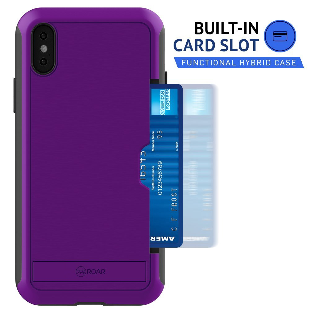 Awesome iPhone X Card Slot Estuche