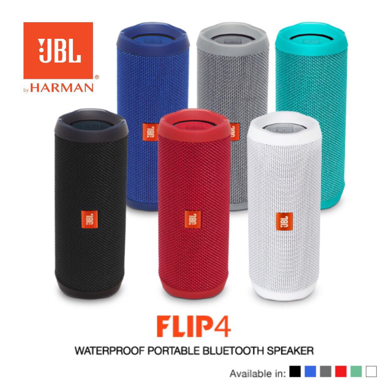 JBL FLIP 4 - Waterproof Portable Bluetooth Speaker
