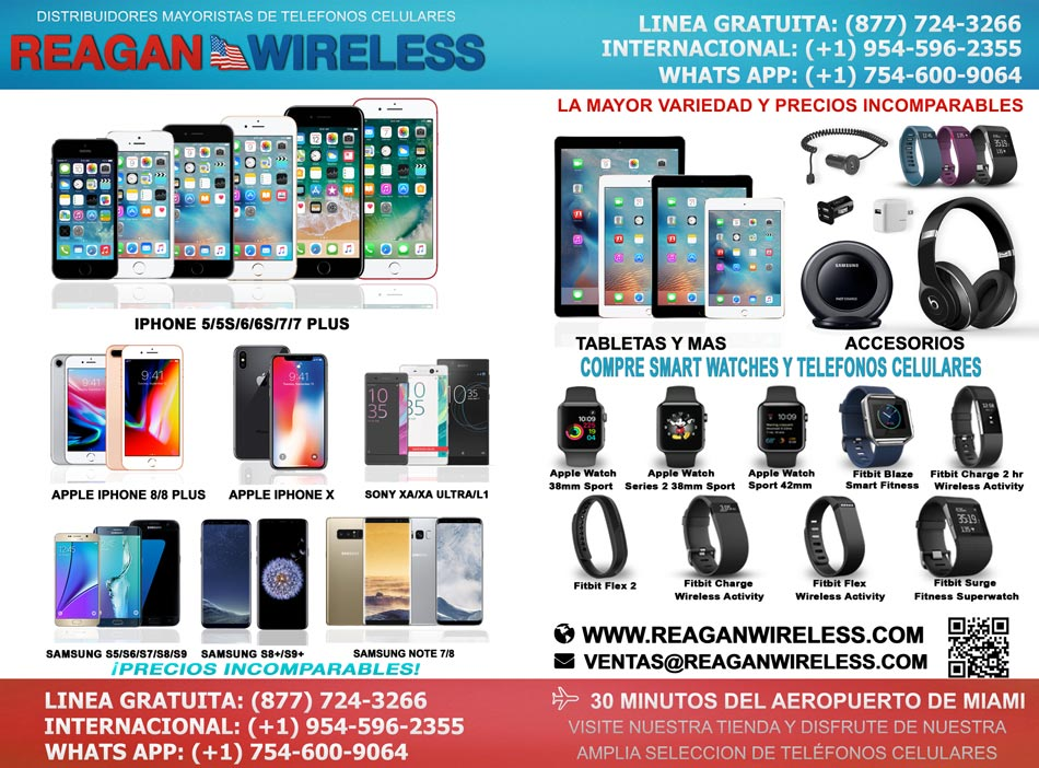 celulares, smartwatches