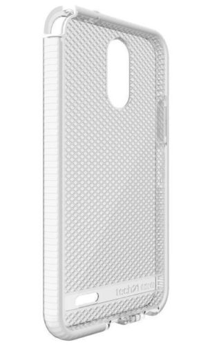 Brand New Retail Master Carton Tech21 EVO CHECK Advanced Drop Protection Case Skin LG Stylo 3 Clear White Local In Miami!