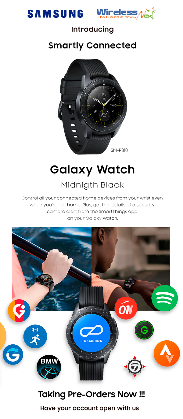 Galaxy Watch - Negro, SM-R810