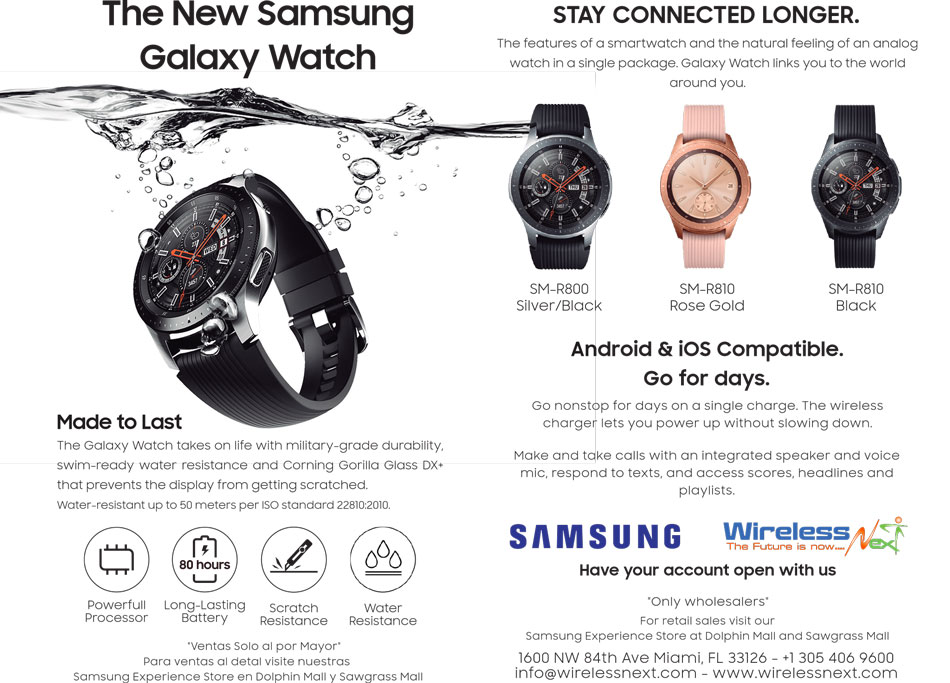 Samsung Smartwatch al por mayor