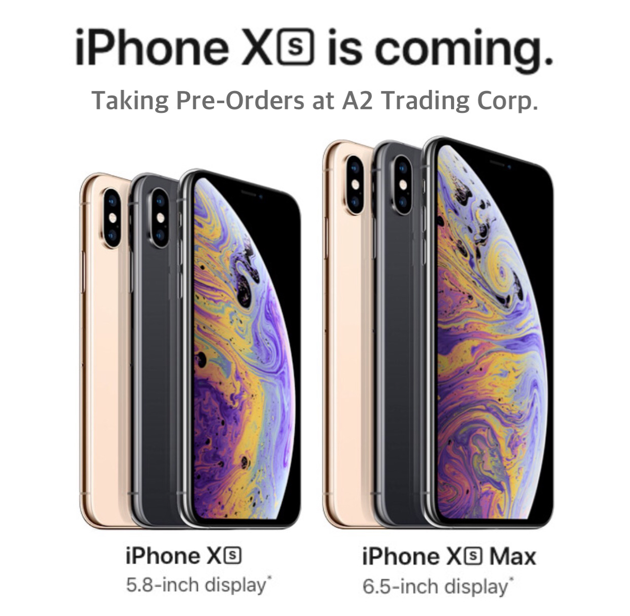Apple iPhone XS & XS MAX