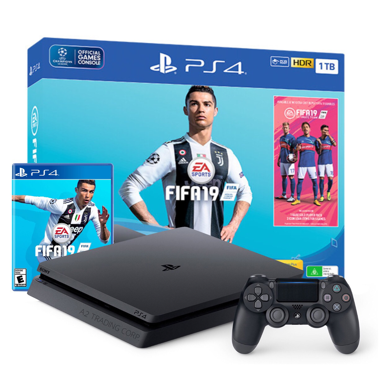 PS4 Slim 1TB with FIFA19 Bundle