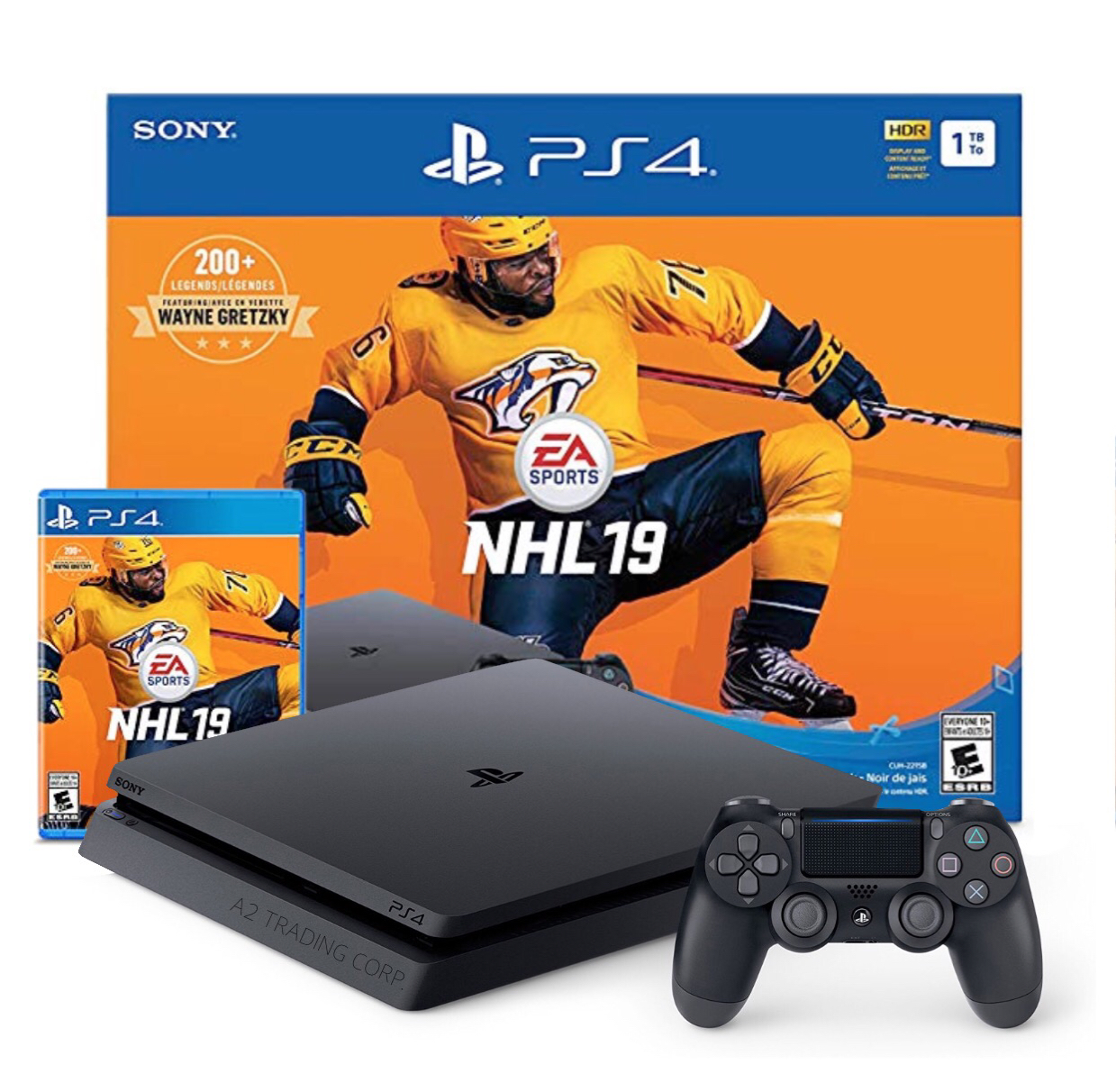 PS4 Slim 1TB NHL19 Bundle