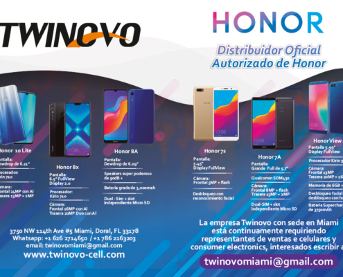 distribuidor de Honor celulares