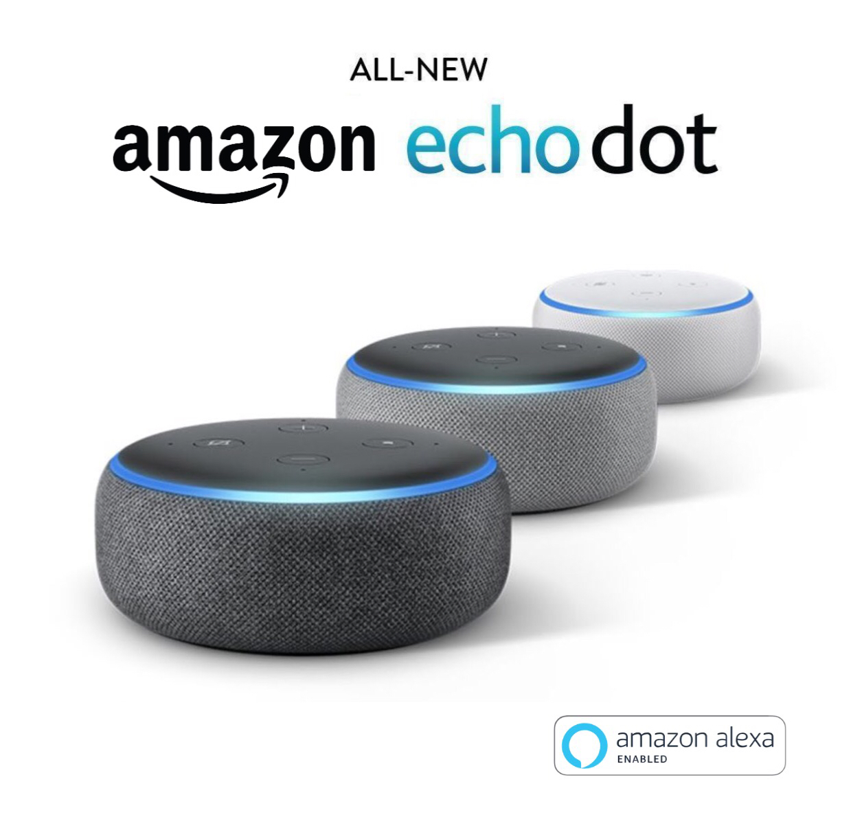 Amazon Echo Dot (3rd Generation) Alexa-enabled Bluetooth Speaker