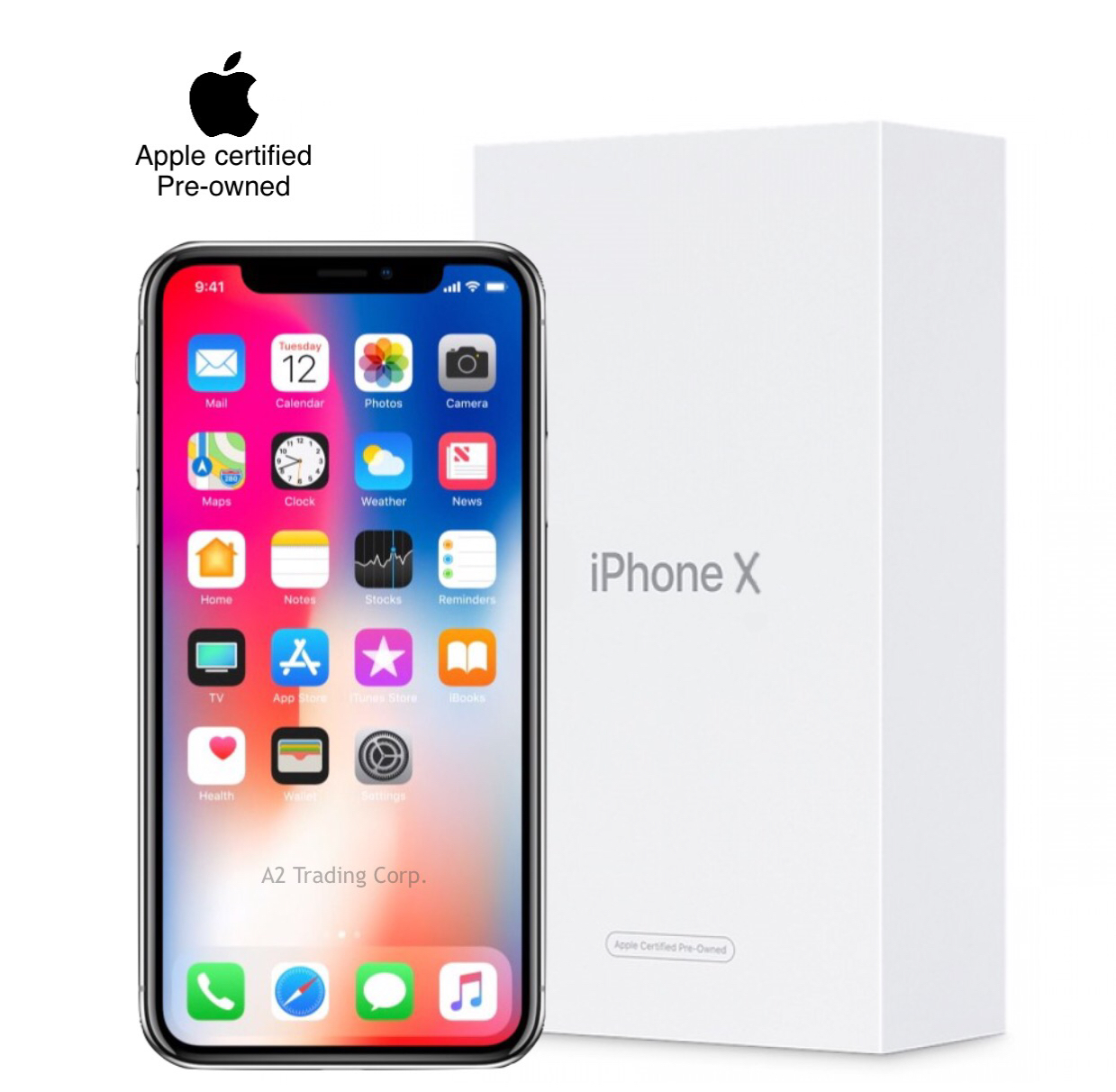 iPhone X (CPO) 256GB - Space Gray